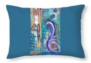 Serenity In Seasons Throw Pillow
