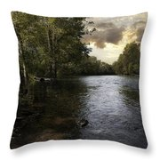 Serenity Throw Pillow by Lynn Geoffroy