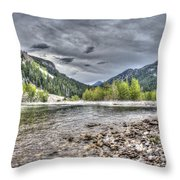 Serenity Of The Sun Throw Pillow
