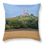 Serenity On High   Throw Pillow