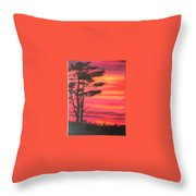 Serenity Tree Throw Pillow