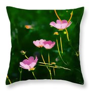 Serenity Within The Cosmos Throw Pillow