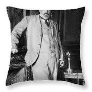 Sergey Yulyevich Witte (1849-1915) Throw Pillow