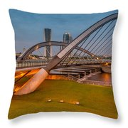 Seri Empangan Bridge Throw Pillow