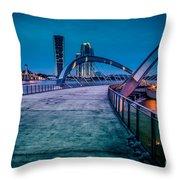 Seri Gemilang Bridge 1 Throw Pillow