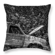Serious Car Trouble In The Tropics Throw Pillow