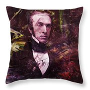Serious Fellow 1 Throw Pillow