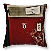 Serve Yourself  Throw Pillow