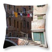 Sestier San Polo - Venice Throw Pillow