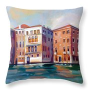 Sestiere San Marco Throw Pillow
