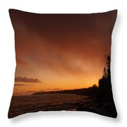 Set Fire To The Rain Throw Pillow