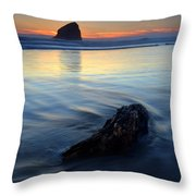 Set In Sand Throw Pillow