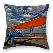 Set To Fly Throw Pillow