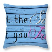 Set You Free Throw Pillow