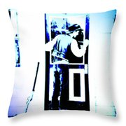 Seth Macfarlane Satire Throw Pillow
