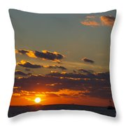 Setting Southwest Throw Pillow