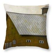 Settlement Throw Pillow