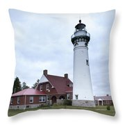 Seul Choix Point Lighthouse Throw Pillow