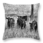Eight Babies Throw Pillow