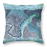 Seven Of Cups Throw Pillow