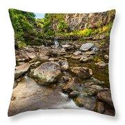 Seven Sacred Flow Throw Pillow