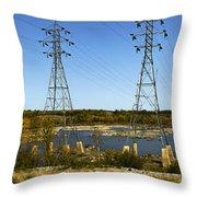Seven Sisters Manitoba Throw Pillow