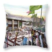 Seven Springs Mountain Resort Throw Pillow