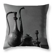 Seventeenth Century Rohdian Ibrick Throw Pillow