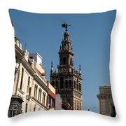 Seville - Giralda Throw Pillow