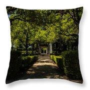 Seville - Park Maria Luisa Throw Pillow