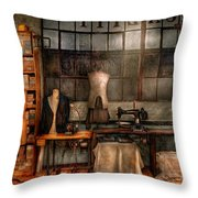Sewing - Industrial - Quality Linens  Throw Pillow