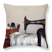 Sewing Room Throw Pillow
