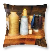 Sewing - Tailor's Thread Throw Pillow