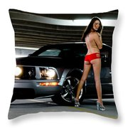 Sexy And Fast Throw Pillow by Jt PhotoDesign