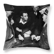 Sf Labor Leader Harry Bridges Throw Pillow