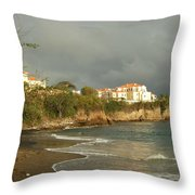 Sgu Library Storm Clouds Throw Pillow
