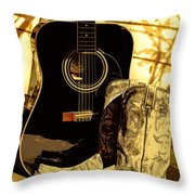 Sh T Kickers Throw Pillow
