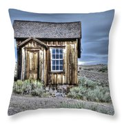 Shack At Bodie Throw Pillow
