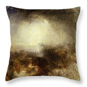 Shade And Darkness - The Evening Of The Deluge Throw Pillow