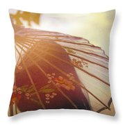 Shaded From The Sun Throw Pillow