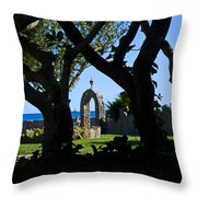 Shaded Solitude Throw Pillow