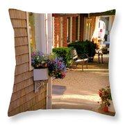 Shaded Walkway Throw Pillow