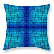 Shades 9 Throw Pillow