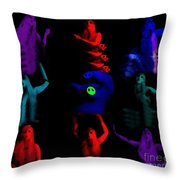 Shades Of A Gypsy Throw Pillow