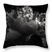 Shades Of A Peony Throw Pillow