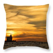 Shades Of Dawn Throw Pillow