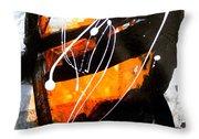 Shades Of Discourse 3 Throw Pillow