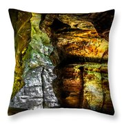 Shades Of Light And Color Throw Pillow