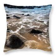 Shades Of Nature Throw Pillow