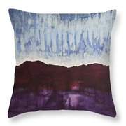 Shades Of New Mexico Original Painting Throw Pillow